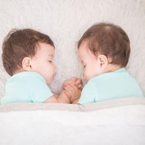 twin baby sleep schedule