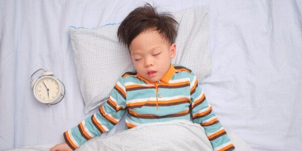 ages for toddler sleep clock